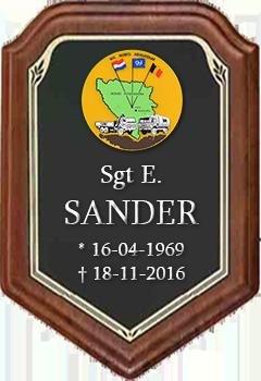 Ed Sander overleden