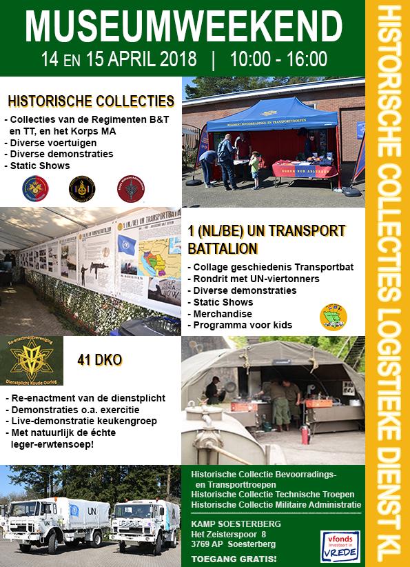 Museum Weekend Soesterberg 14 & 15 april 2018